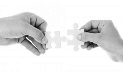 Arbeit, Steuer, Unternehmen, Teile zusammenfügen (Puzzle_connect)