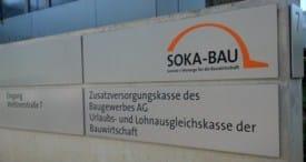 Soka Bau, Sozialkassen Bau (SOKA-BAU : ULAK, Berufsbildung - ZVK Bau) Wiesbaden, Arbeitsrecht Frankfurt (pm)