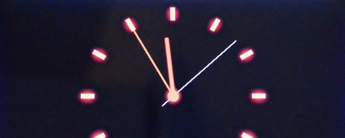 Verjährung von Ansprüchen : Uhr 5 vor 12 (clock)