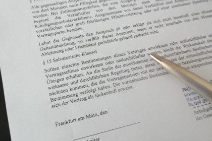 Arbeitsvertrag, Versetzungsklausel, Klausel