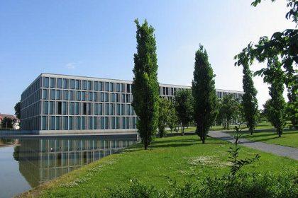 Bundesarbeitsgericht, Bau, Süd-Westseite