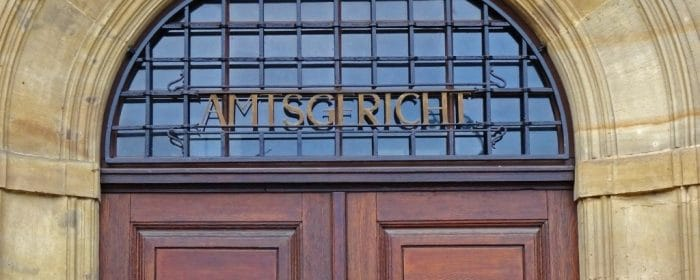 Amtsgericht, Rechtsweg: SOKA-Bau Solo-Selbständige Betriebe ohne Beschäftigte, Mindestbeitrag Berufsbildung