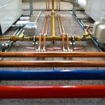 Heizung, Lüftung und Sanitär, Installation, Rohrleitungen