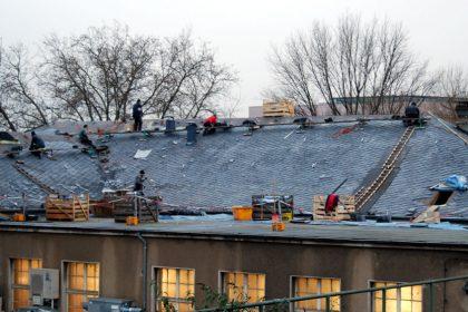 Dachdeckerarbeiten, Grundbeitrag Berufsbildung, Soka-Dach