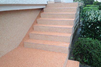 Steinteppich, verlegen von Fußböden , Soka-Bau-Beitragspflicht