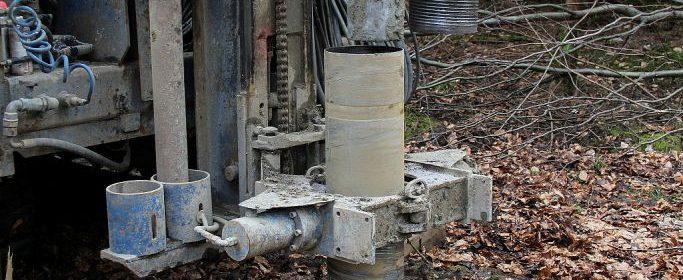 grundwassermessung, erdbohrung