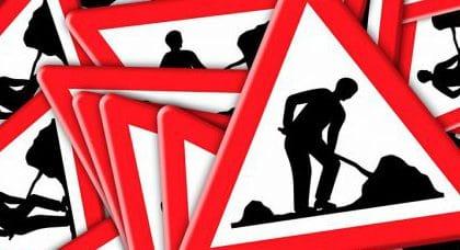 SOKA-Bau, SOKA-Beitragspflicht, Baustelle