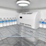 Aufstellen von Kühlzellen