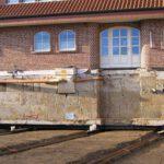 hydraulische Gebäudehebung